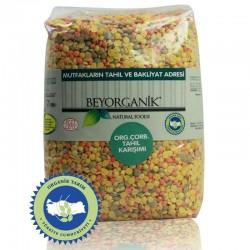 Beyorganik - Beyorganik Organik Çorbalık Tahıl Karışımı (Üçlü Mercimek) 1 Kg