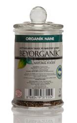 Beyorganik - Beyorganik Organik Nane 50 Gr Cam Ambalaj