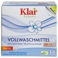 Klar - Organik Klar Çamaşır Makina Yıkama Tozu ( Beyaz + Renkli) 1,1 kg.