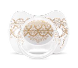Suavinex - Suavinex Couture Fizyolojik Silikon Emzik (18 ay +) Beyaz