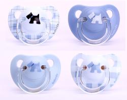 Suavinex - Suavinex Evolution Ortodontik Silikon Emzik Scottish ( + 6 ay) 2 li