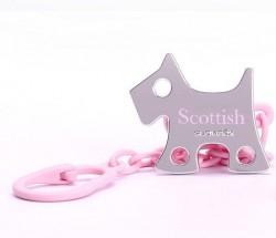 Suavinex - Suavinex Scottish Jewel Emzik Zinciri Rose et Blue - Köpek Pembe