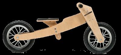 Woodebike 4in1 Ahşap Denge Bisikleti (4 Model 1 Arada)
