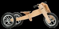 Woodebike - Woodebike 4in1 Ahşap Denge Bisikleti (4 Model 1 Arada)