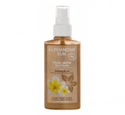 Alphanova - Alphanova Parlak Kuru Yağ - Saç ve Vücut için - 125 ml - Glittering Oil