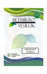 Beyorganik - Beymikro Yeşillik Amarant Filizi (Yeşil)
