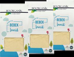 Beyorganik - Beyorganik Organik Bebek İrmiği 350 gr * 3 adet (toplam 1050 gr) Kutu