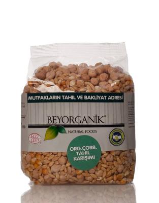 Beyorganik Organik Çorbalık Tahıl Karışımı Anadolu Diş Buğday 500 Gr