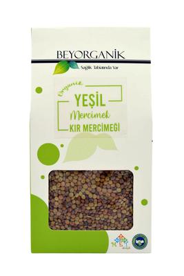 Beyorganik Organik Yeşil Kır Mercimeği 400 gr