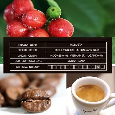 Gimoka Deciso Kapsül Kahve 10 X 2 Yoğunluk : 12 (Nespresso® makineleri ile uyumlu)