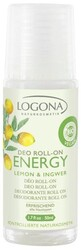 Logona - Logona Energy Deo Roll-on Limon & Zencefil 50 ml