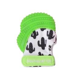 Mouthie Mitten - Mouthie Mitten Diş Kaşıyıcı Eldiven Yeşil Kaktüs