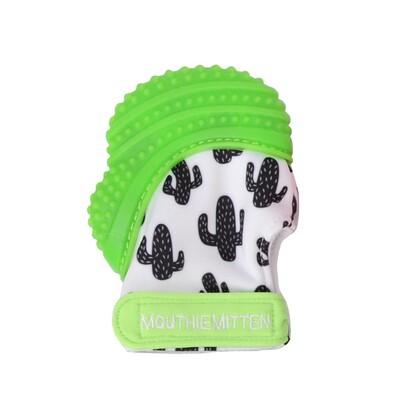 Mouthie Mitten Diş Kaşıyıcı Eldiven Yeşil Kaktüs