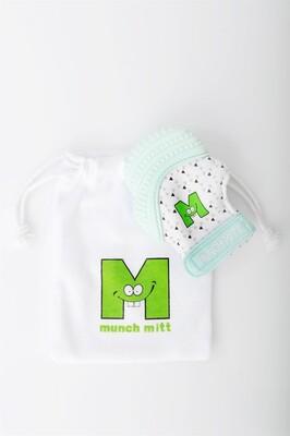 Mouthie Mitten Diş Kaşıyıcı Eldiven Nane Yeşili