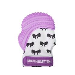 Mouthie Mitten - Mouthie Mitten Diş Kaşıyıcı Eldiven Mor Fiyonk