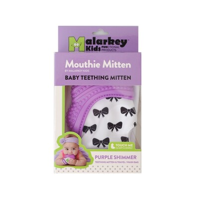 Mouthie Mitten Diş Kaşıyıcı Eldiven Mor Fiyonk