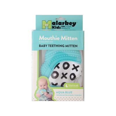 Mouthie Mitten Diş Kaşıyıcı Eldiven Mavi XO