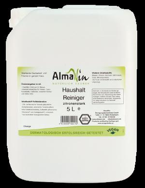 Organik Almawin Elde Bulaşık Yıkama Sıvısı - Limon Kokulu 5 lt.