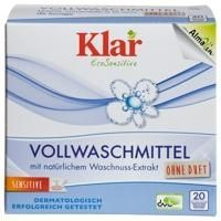 Klar - Klar Organik Çamaşır Makina Yıkama Tozu ( Beyaz + Renkli) 1,1 kg.