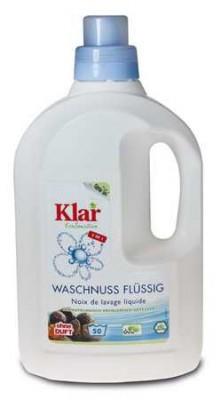 Klar Organik Çamaşır Makine Yıkama Sıvısı (Beyaz + Renkli) 1,5 lt