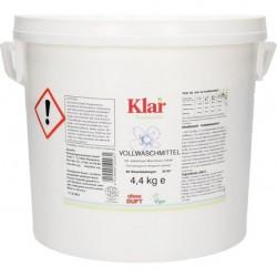 Klar - Organik Klar Çamaşır Makine Yıkama Tozu (Beyaz + Renkli) 4,4 kg