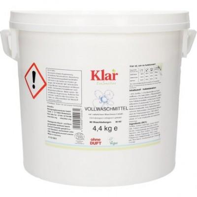 Klar Organik Çamaşır Makine Yıkama Tozu (Beyaz + Renkli) 4,4 kg
