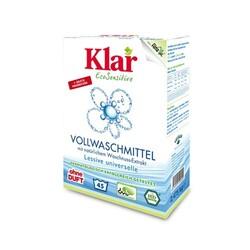 Klar - Klar Organik Çamaşır Makine Yıkama Tozu (Beyaz + Renkli) 2,475 kg.