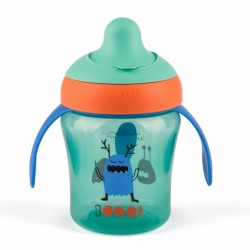 Suavinex - Suavinex Damla Akıtmaz Eğitim Bardağı Booo - 200 ml ( 6+ ay ) Yeşil