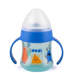 Suavinex - Suavinex Kulplu Bardak Booo - 150 ml ( 4+ ay) Mavi