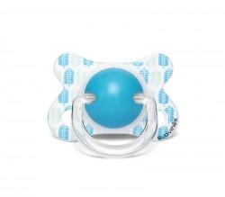 Suavinex - Suavinex Fusion Fizyolojik Silikon Emzik ( -2 aydan 4 ay) Butterfly Mavi