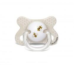 Suavinex - Suavinex Fusion Fizyolojik Silikon Emzik ( -2 aydan 4 ay) Butterfly Beyaz