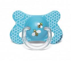 Suavinex - Suavinex Fusion Ortodontik Silikon Emzik ( 4-18 ay) Butterfly Mavi